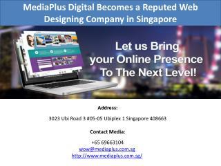 Web Designing Company in Singapore