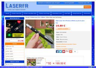 Stylo pointeur laser
