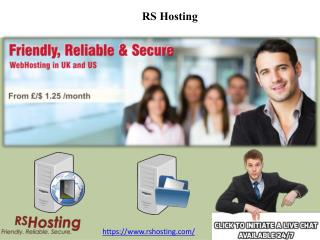 UK Reseller Hosting - RS Hosting