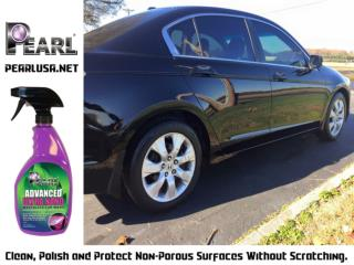 Now you can wash, wax, seal and protect your vehicle - Pearl Waterless Products