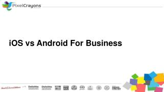 IOS vs Android for Business