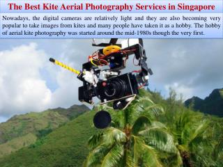 The Best Kite Aerial Photography Services in Singapore