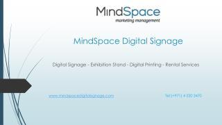 Best signage solutions in Dubai