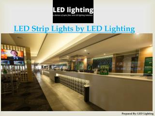 LED Strip Lights Portfolio by LED Lighting