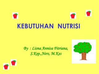 gizi dan nutrisi