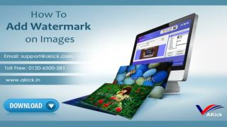 Free Photo Watermak Creator and Logo Creator - Akick