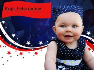 Ropa bebe online