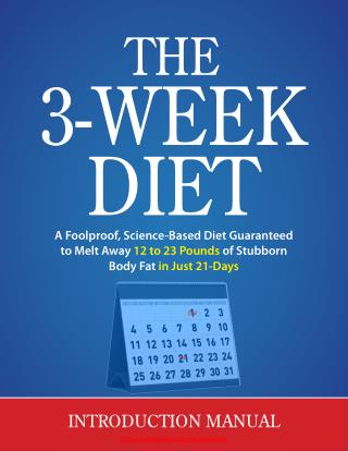 How I Lost Fat Fast In 3 Weeks With This Weight Loss Diet