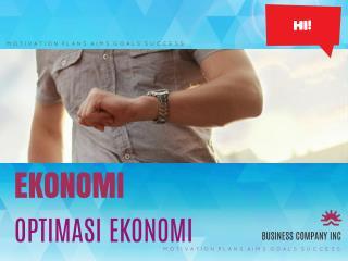 Optimasi Ekonomo