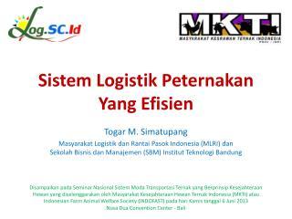 Sistem Logistik Peternakan Yang Efisien