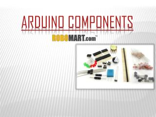 Buy Arduino Components by Robomart