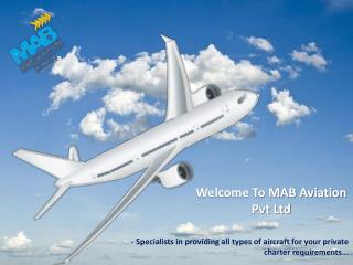 Air Charter Companies in India