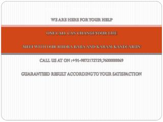 Witchcraft Vashikaran Specialist Astrologer Baba In India