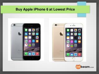 Buy Apple iPhone 6 at Lowest Price