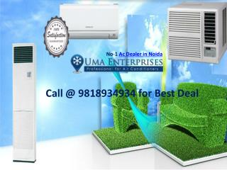 Reliable ac dealers in Noida UMA Enterprises