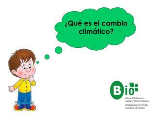 Qu  es el cambio clim tico