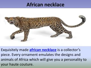 African jewelry wholesale