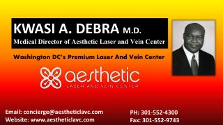 Aesthetic laser and vein center cosmetic surgery before and after looks