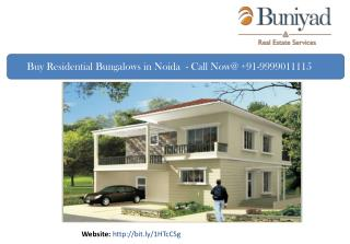 Residential Bungalow in Noida for Sale