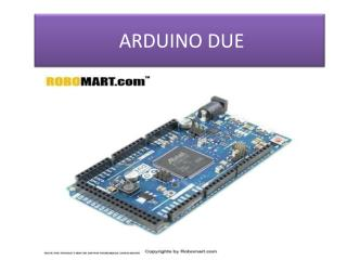 Price Of Arduino Due by ROBOMART