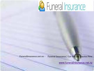 Funeral Plans NZ