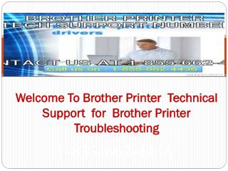 Dial 1-855-662-4436 #@Brother Printer Tech Support
