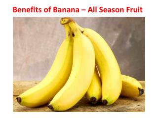 Benefits of Banana | Diet and Health Tips