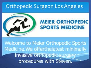 Knee Surgery Los Angeles