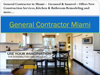 Key Biscayne general contractors