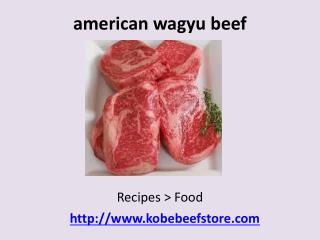 american style kobe beef japanese wagyu cattle