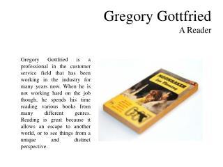 Gregory Gottfried-A Reader