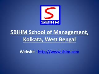 Bba Colleges In Kolkata | Sbihm