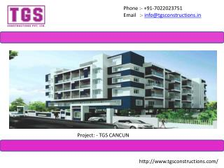 Lavish 2 & 3BHK Apartments In Electronic City - TGS Constructions