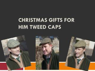 Christmas Gifts for Him Tweed Caps
