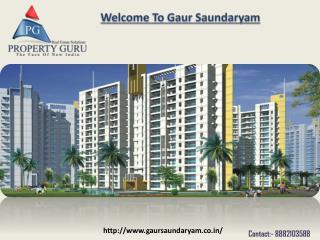 Gaur Saundaryam- ¾  Bhk flats in noida