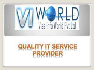 Website designing company in Noida India-visainfoworld.com