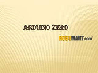 Buy Arduino Zero By Robomart