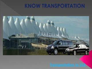 Transportation To DIA |  DIA Taxi Service At Good Cost