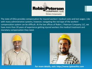 Workmans comp lawyer Canton Ohio