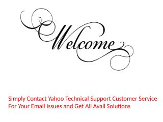 Yahoo Customer Service 1 844 666 2840  Yahoo Phone Number