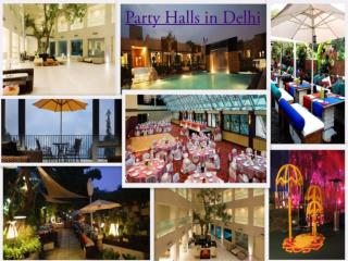 Party halls in Delhi near Qutab Minar