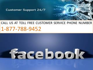#1-877-788-9452 || Facebook tech Support number