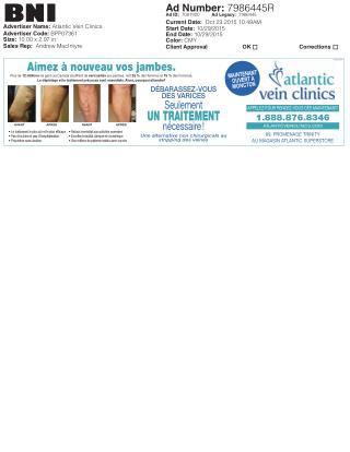 Atlantic Vein Clinics offers Varicose Vein Treatments & Removal