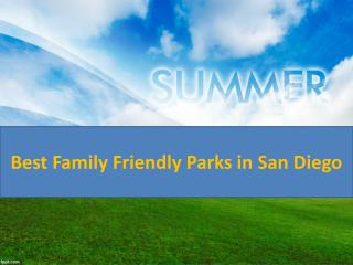 Best Family Friendly Parks in San Diego