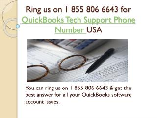 1 855 806 6643 QuickBooks pro advisor tech support phone number