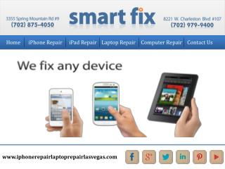 IPhone and laptop repair shop las vegas