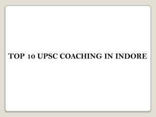 best coaching Upsc in Pune