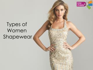 Types of Women Shapewear