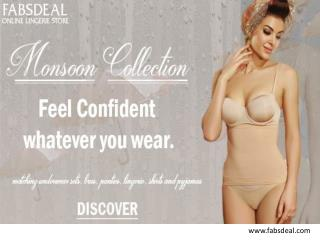 Purchase enamor underwired bra at Fabsdeal