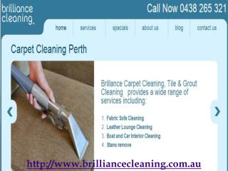 Brilliance Carpet Cleaning Perth